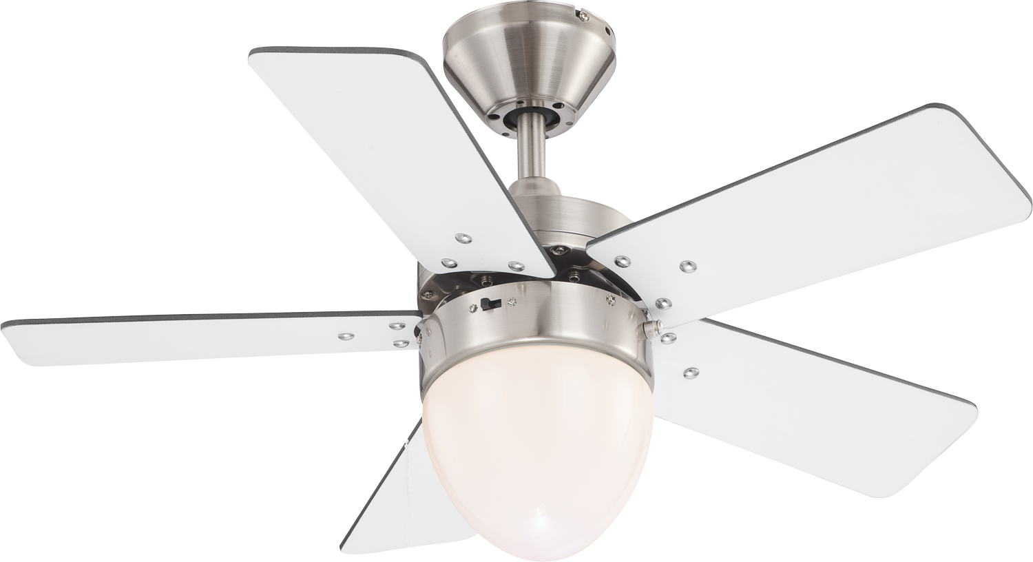 Deckenventilator Globo Marva Nickel